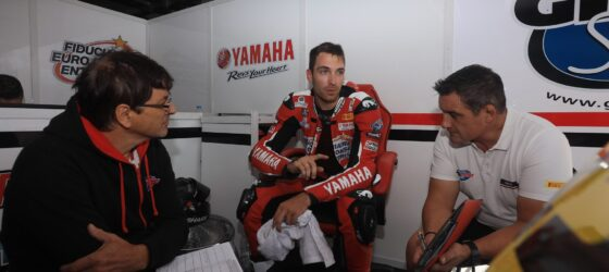 Gil Motor Sport in the 2021 World Superbike Championship with the rider Christophe Ponsson #23