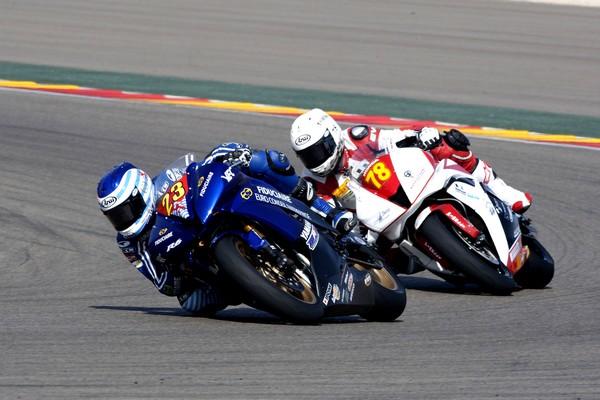 4ème manche du Championnat d'Europe Superstock 600  Sur le circuit d'Aragon (Espagne)