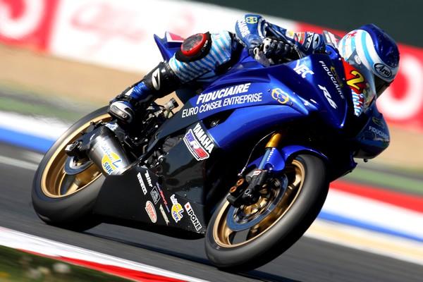 9ème manche du Championnat d'Europe Superstock 600  Sur le circuit de Magny-Cours (France)