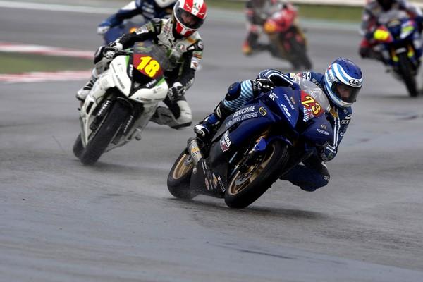 3ème manche du Championnat d'Europe Superstock 600  Sur le circuit de Misano (Italie)