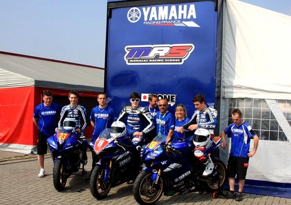 Confirmation de Christophe Ponsson chez Yamaha MRS en 2011