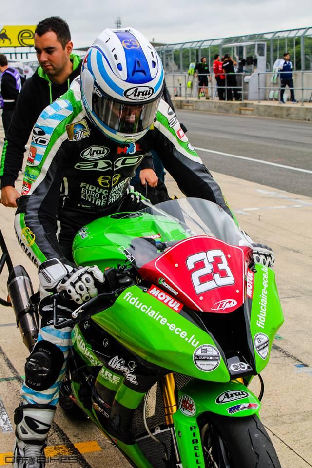 Christophe Ponsson : Des chances de concrétiser au Nurburgring