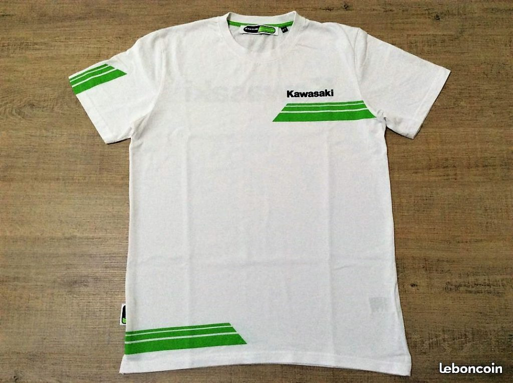 tee shirt kawasaki racing apparel gil motor sport fra. Black Bedroom Furniture Sets. Home Design Ideas