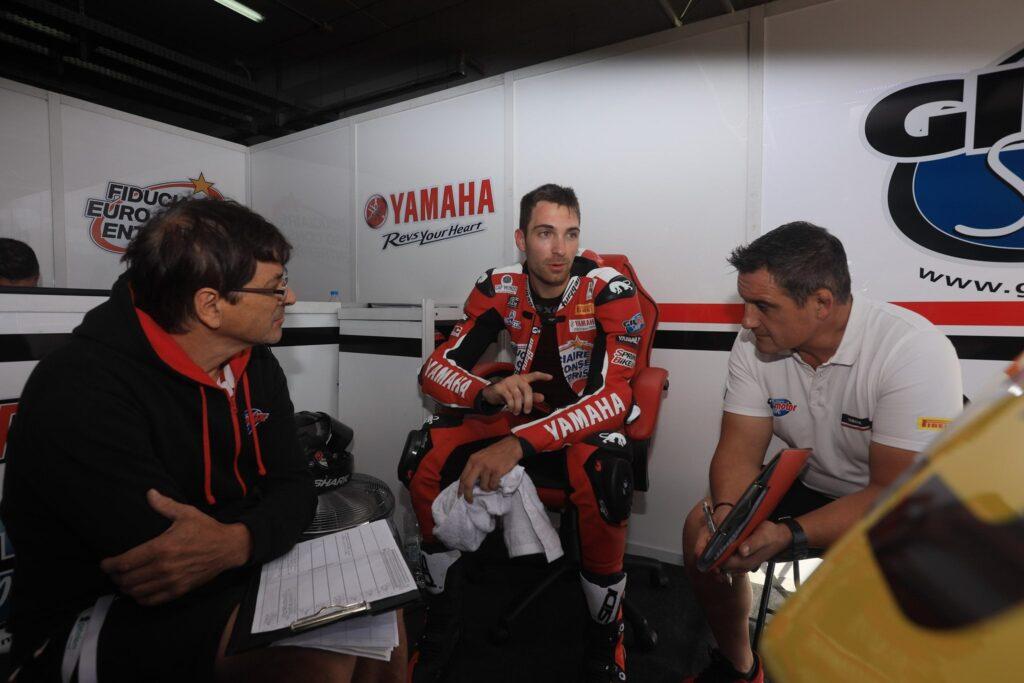 Gil Motor Sport en Championnat du Monde Superbike 2021 avec le pilote Christophe Ponsson #23