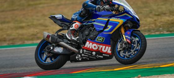 Championnat du Monde Superbike au circuit d'Aragon en Espagne