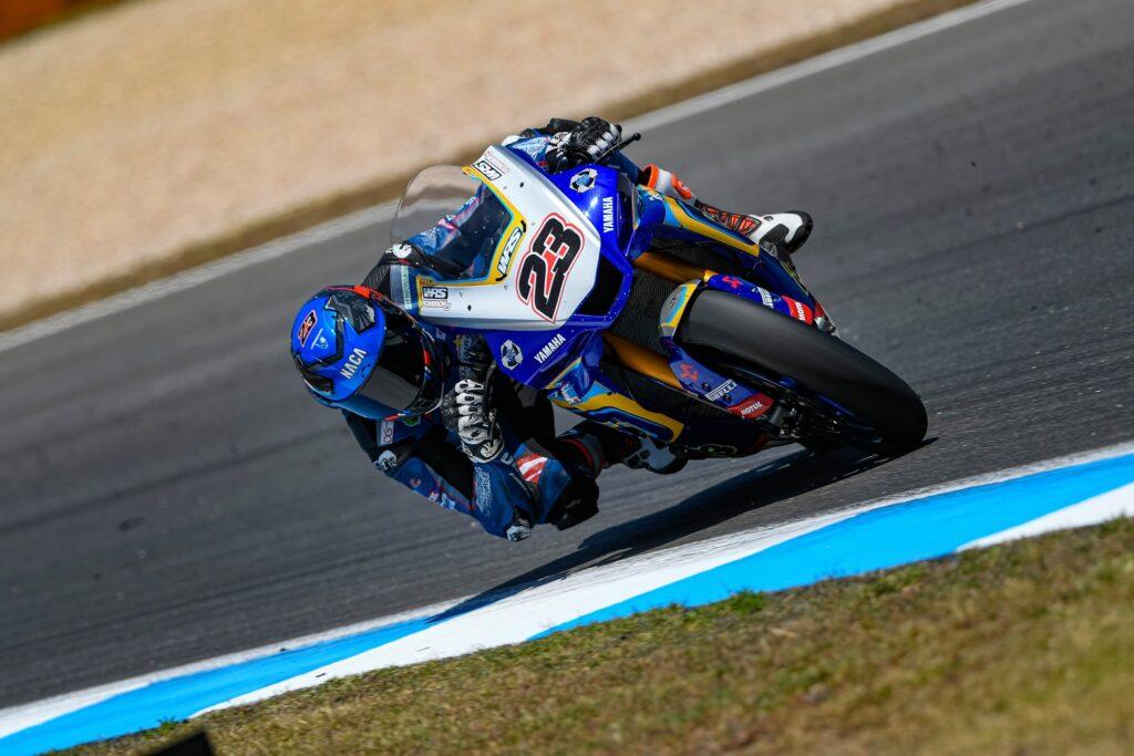 Championnat du Monde Superbike au circuit d'Estoril au Portugal